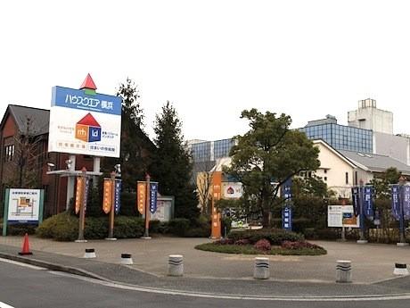 横浜の住宅展示場「ハウススクエア横浜」の概観