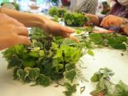 子ども向けのフラワーアレンジメント教室 荏田の生花店が伝統の大切さ伝える