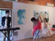 長津田の「赤い家」で女性アーティスト5人展 ドリームキャッチャー作りも