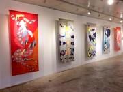 青葉のアートスペースで創作ユニット「ハルナチコ」展 立体作品など100点