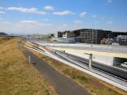 高速道「横浜北線」に先立ち、新横浜の都市計画道路長島大竹線開通