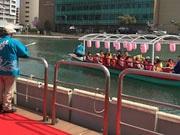 小倉・紫川に「屋形船」 劇団員らが「十橋」の魅力語る