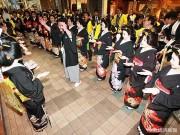 小倉で「十日ゑびす祭」 芸者らが「商売繁盛」願い練り歩き