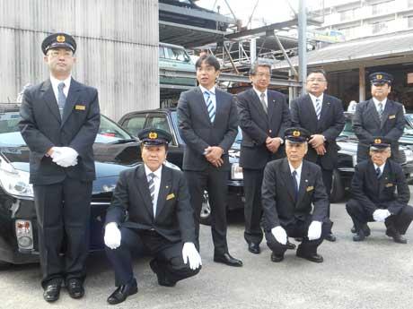 小倉の「勝山自動車」プレミアムタクシー5台運行 接客態度向上目指し