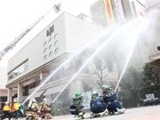 深川ギャザリアで消防イベント 防災を「楽しく」学ぶ
