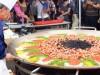豊洲で2000食分の巨大パエリア-国際パエリアコンクール予選も
