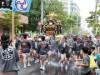 富岡八幡宮例祭の本祭り-3年に1度の神輿渡御
