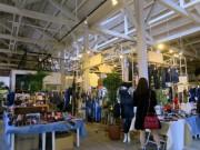 倉敷アイビースクエアで国産デニム展示販売 ジーンズから雑貨まで4千点