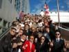 町田で晴れやか成人式 2500人が参加