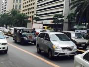 マニラの渋滞、深刻に パブリックレーンには効果も