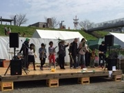松戸の江戸川河川敷で「カッパ市」 自然を活用したまちづくりイベント