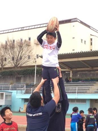 松戸で子ども向けラグビー体験会 「親子で気軽にラグビーに触れる機会」創出