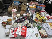 松本で「フードドライブ」 家庭で余った食料品寄付、有効活用目指す