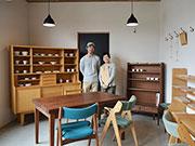 松本・奈川の木工家具「ソルンテ」が展示会 「7年目のありがとう」込めて