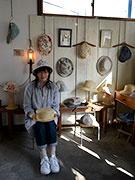 松本・里山辺で帽子展示&オーダー会 「イギリスの春の庭」イメージ