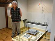 松本のギャラリーで「硝子の箱展」 古いガラス、ステンドグラスの技法で箱に