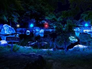 松山のイルミ「光のおもてなし」 入園者1万人突破で感謝イベント開催へ