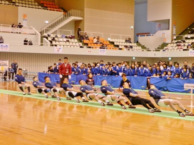 松山で「愛媛県綱引選手権大会」 優勝チームは全国大会と国体代表に