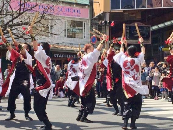 松山の商店街で「お城下スプリングフェスタ」 「紙兎ロペ」のイベントも