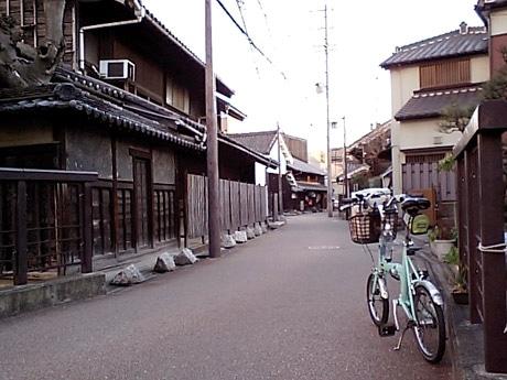 自転車の 古い自転車 : 名古屋の下町を巡る自転車 ...