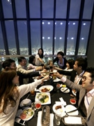 中部地区で最も高い場所のビアガーデン 今年から「昼飲み」も