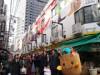 名駅前の市場ビル壁面に学生が壁面アート キャラクター探す仕掛けで楽しみも