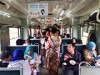 ひたちなか海浜鉄道「納豆列車」、今年も運行 走る車内で納豆ご飯