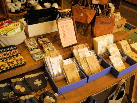 盛岡の雑貨店で「ぽち袋」の展示販売会 個性豊かな作品集めて