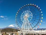 東名高速富士川SAに大観覧車 富士山の日にオープン、記念イベントも