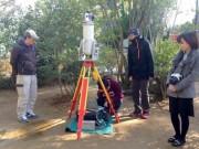 長崎・淵神社の被爆クスノキを筑波大・東京農大グループが3Dレーザー測量