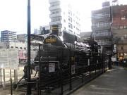 長崎・中央公園から蒸気機関車を解体撤去 老朽化で43年の歴史に幕