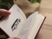 中野で「豆本界のカリスマ」赤井都さん個展 手のひらに収まる「豆本」30点