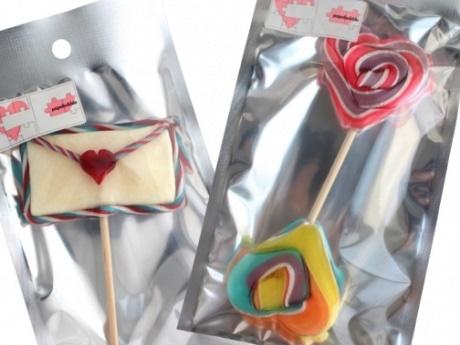 パパブブレがバレンタイン向け限定商品 「ダブルハートは両端から食べてほしい」