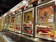 道頓堀に「パチンコ博物館」-歴代のパチンコ・スロットを体験