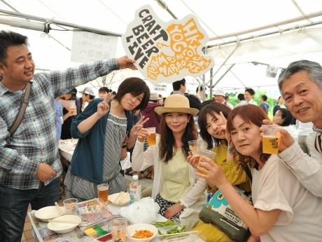 湊町リバープレイスの地ビールイベント「クラフトビアライブ」 今年も5月開催へ