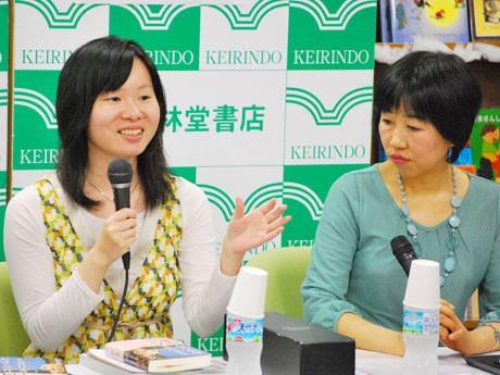 作家の鈴木遥さん、仏像 作家の鈴木遥さん、仏像イラストレーターとトークシ