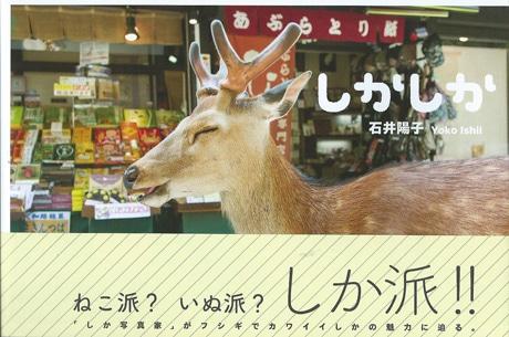 鹿写真集「しかしか」 海外で話題に