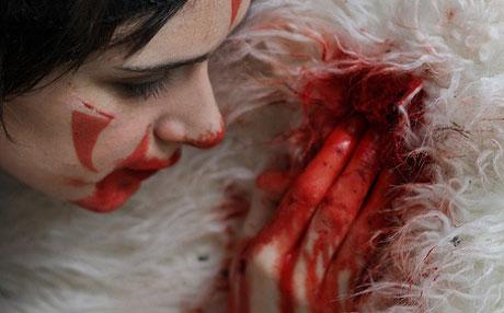 ロンドンで上映される舞台版「もののけ姫」