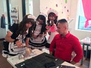 NYに期間限定メイドカフェ 日本のポップカルチャー文化に親しむ