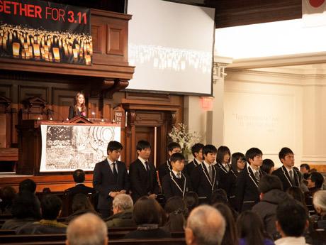 東日本大震災から6年、熊本大分地震から1年 NYで追悼式典「忘れない」