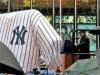 ニューヨーカーがタイムズスクエアでヤンキースを激励-市長の姿も