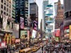 NYタイムズスクエアに空中公園 斬新なデザインが話題を呼ぶ