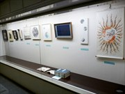 日本橋小舟町まちかど展示館で書展 「人のつながり」テーマに書家6人が競作