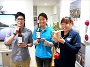 日本橋で南三陸町初の地酒「おら酒」試飲会 若い力が被災田で米作りから挑戦