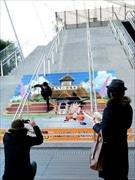 東京駅でドラゴンボール企画 スタンプラリーやパブリックアート、連動メニューも