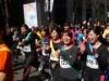 丸の内で職場対抗駅伝 東京マラソン前日祭、男女混成チームが仲通り疾走