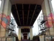 二子玉川商店街のハートアートイベント 世界最大級の橋脚ハートアートも
