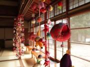 世田谷・旧小坂家別邸でひな飾り展示 居間や縁側に「つるしびな」も