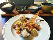 西宮「鳴尾山芋研究所」がランチ営業 自然生料理2コースで
