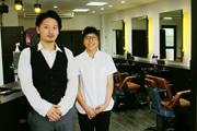 親子4代続く羽村の理髪店がリニューアル-「利他」の思い店名に